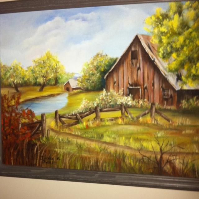 69 Best Barn Paintings Images On Pinterest