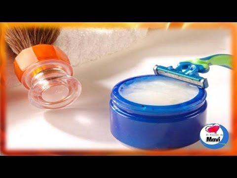 Como hacer crema de afeitar casera de romero y menta para pieles sensibles - Cosmetica natural - YouTube