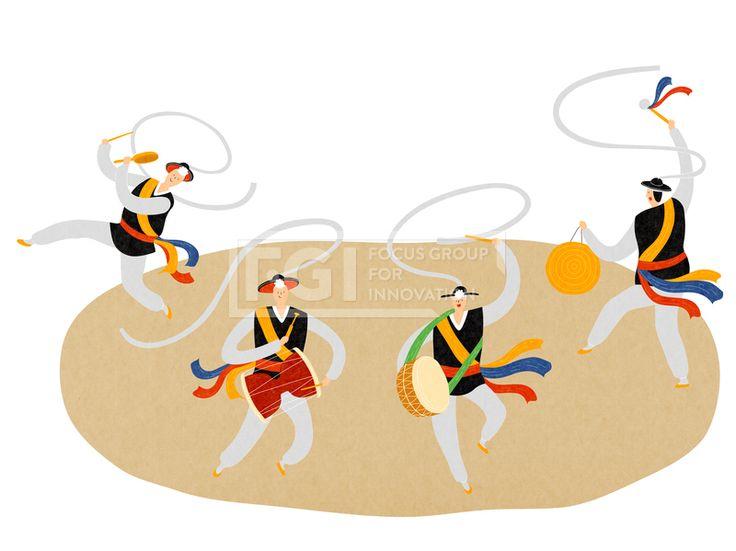 ILL163, 프리진, 일러스트, ILL163, 페스티벌, 축제, 행사, 단체, 그룹, 사람, 캐릭터, 남자, 남성, 중년, 청년, 공연…