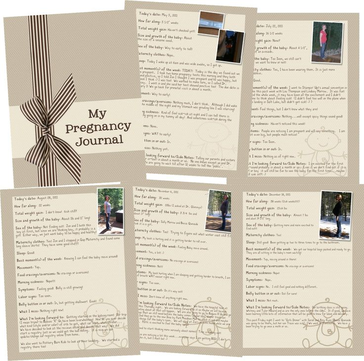 52 best diy my pregnancy journal images on pinterest pregnancy my pregnancy journal mds pronofoot35fo Gallery