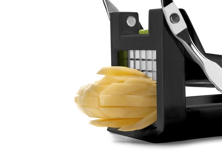 NEW IBILI Potato cutter. It´s perfect for cutting potatoes and other vegetables into strips. Very easily and functional. Measures 25x9cms