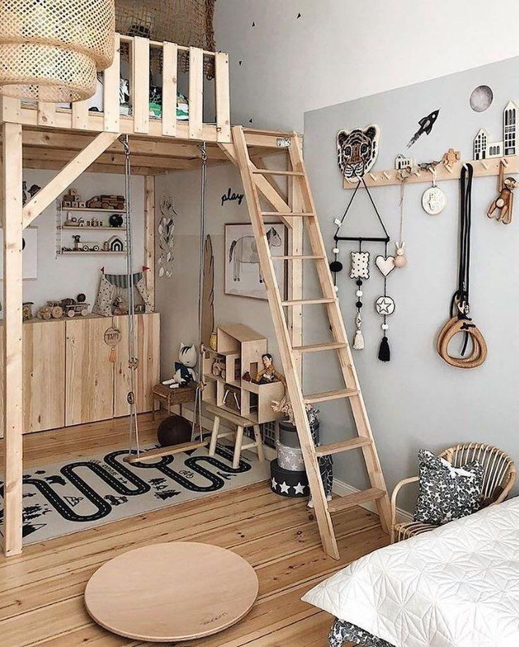 34 Einzigartiges skandinavisches Kinderzimmer-Design, damit Ihre Tochter glücklich wird