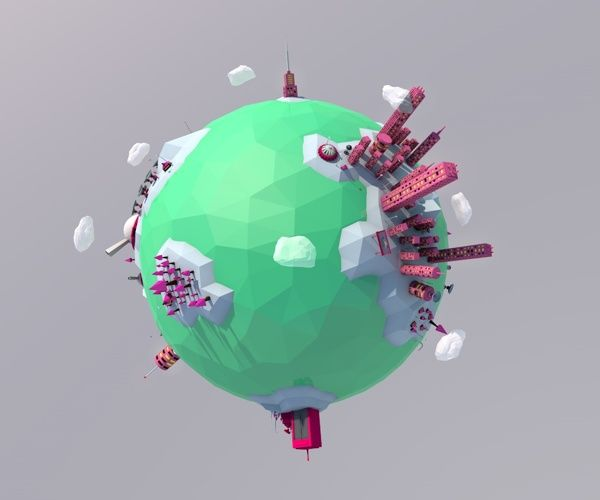 Low Poly Game