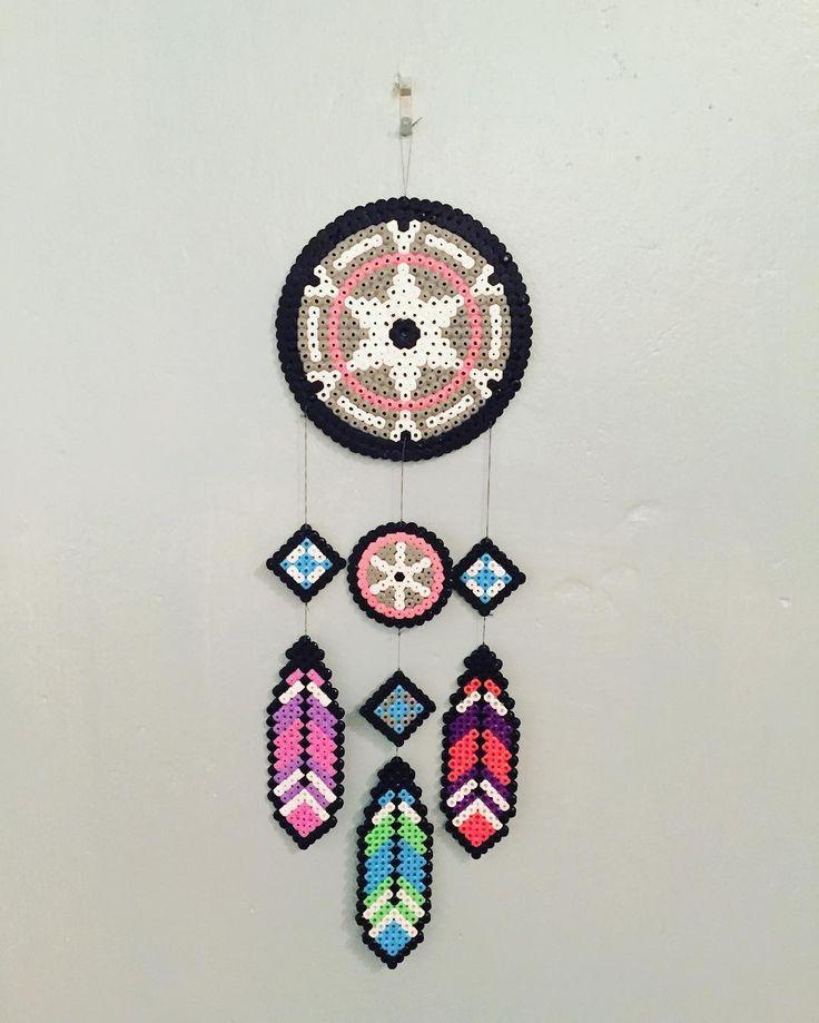 Dreamcatcher hama beads by hemillie                                                                                                                                                                                 More