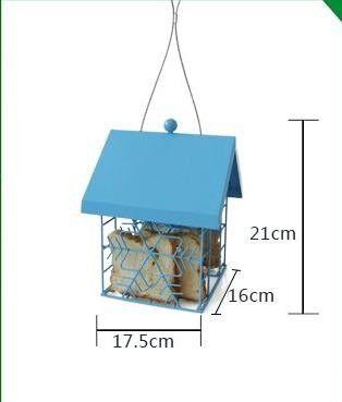 Европейский стиль дикие фидер птицы На Открытом Воздухе кормушки для птиц пищевых контейнеров купить на AliExpress