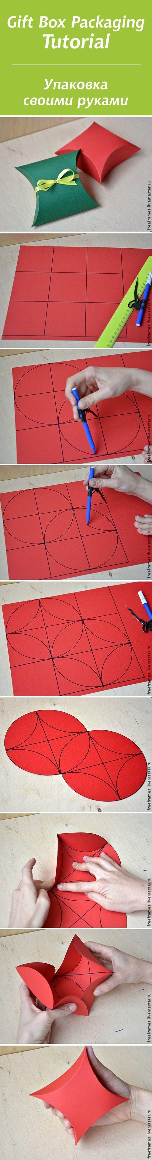 Empaque super facil, foto tutorial https://www.pinterest.com/LeoncitosLocos/