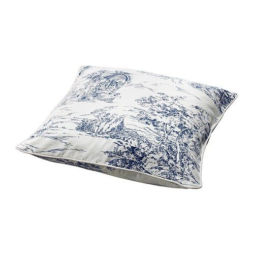 EMMIE LAND Cushion cover IKEA Zipper makes the cover easy to remove for washing.