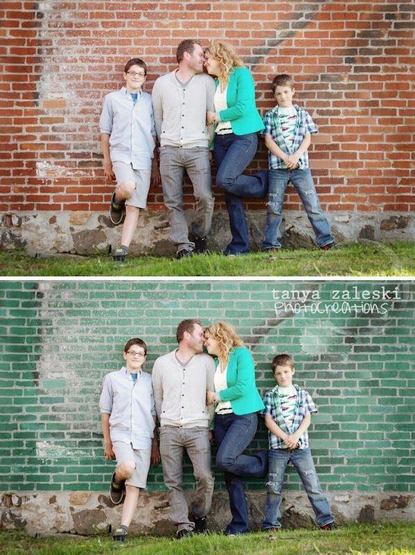 Changing wall colours (color) Corel Paint Shop Pro tutorial - Tanya Zaleski Photocreations