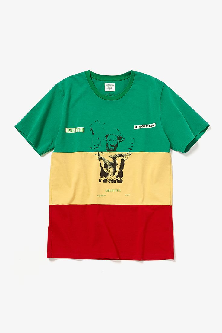 LEE PERRY RESTA STRIPED CREW NECK T-SHIRT(TYPE-1) | TEES | COVERCHORD