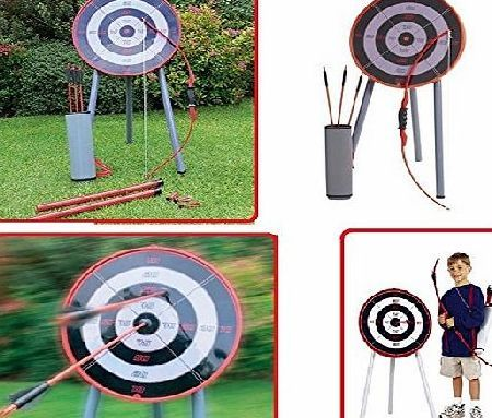 E Trade Etrade GARDEN ARCHERY GAME SET TOY FOR FAMILY KIDS ADULTS HOME PICNIC PARTY GAMES CARRY BAG AND BOARD, THIS WATERPROOF PLAY SET IS JUST WHAT YOUR CHILD WANTS! FEATURES: TOY ARCHERY SET. CHILD SAFE DESIGN. COMPLETE WITH WATERPROOF TARGET. INCLUDES PLAST (Barcode EAN = 5982734982737) http://www.comparestoreprices.co.uk/december-2016-week-1-b/e-trade-etrade-garden-archery-game-set-toy-for-family-kids-adults-home-picnic-party-games.asp