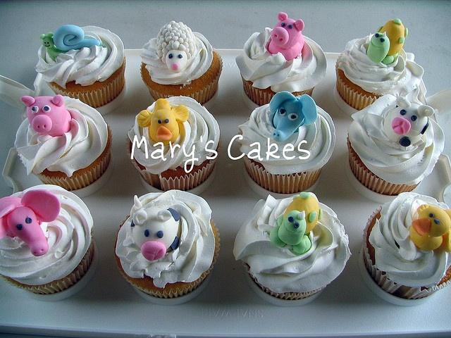 Cupcake Decorating Ideas Animals : 79 best Animal cupcakes images on Pinterest Animal ...