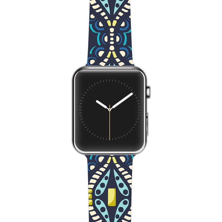 """Apple Watch Band Strap - Suzie Tremel """"Ogee Lace"""" - Kess inHouse by KessInHouse on Etsy https://www.etsy.com/listing/239048538/apple-watch-band-strap-suzie-tremel-ogee"""