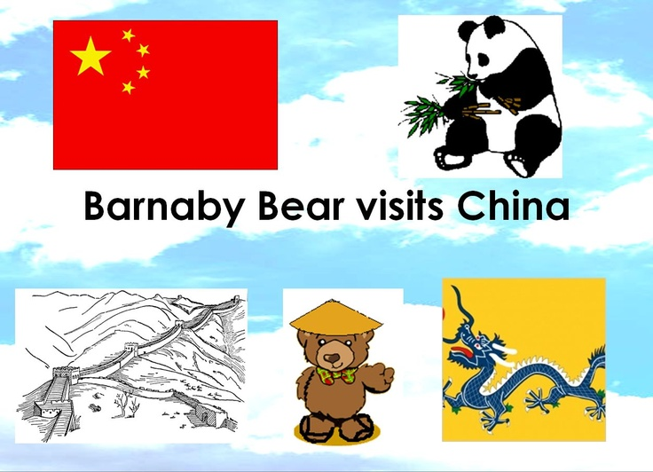 Barnaby visits China - Barnaby the Bear is going on a trip to China.