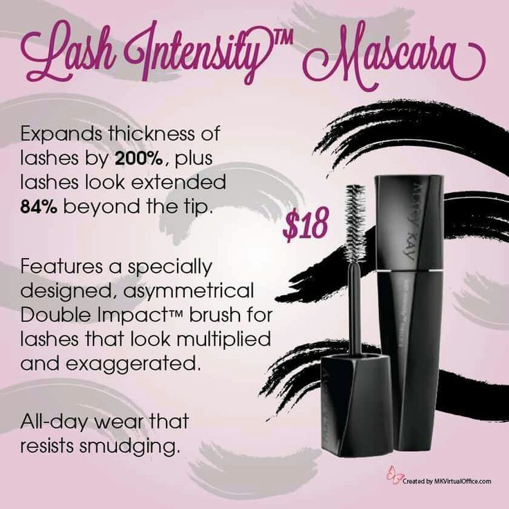 New Lash Intensity Mascara from Mary Kay! www.marykay.com/rcontreras0619