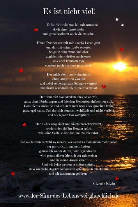 sprüche fürs leben liebe Sprüche und Zitate: #Sprüche #Zitate #Gedicht #Gedichte  sprüche fürs leben liebe