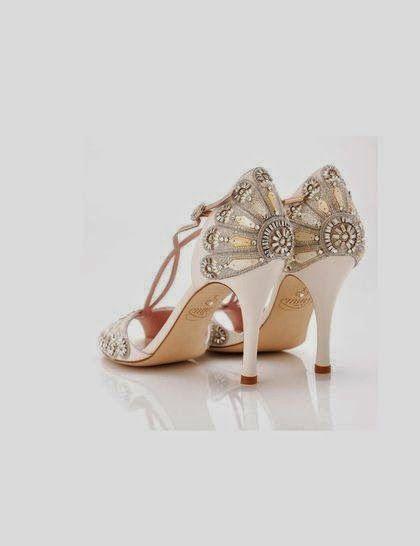 Zapato novia años 20