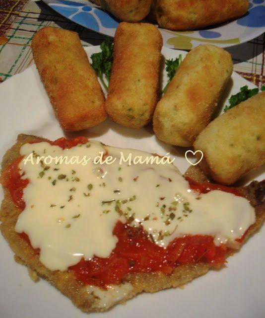 MILANESAS A LA NAPOLITANA ~ Aromas de Mamá | Recetas de Cocina | aromasdemama.com