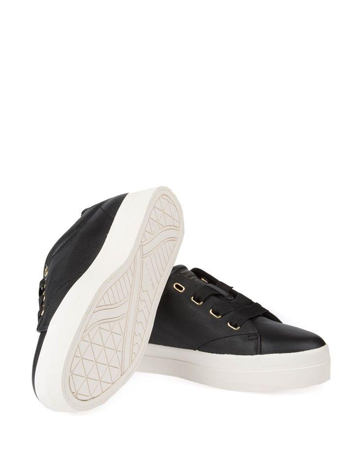 Gant Amanda Low Lace Shoes Black  c9a81eb25ab39