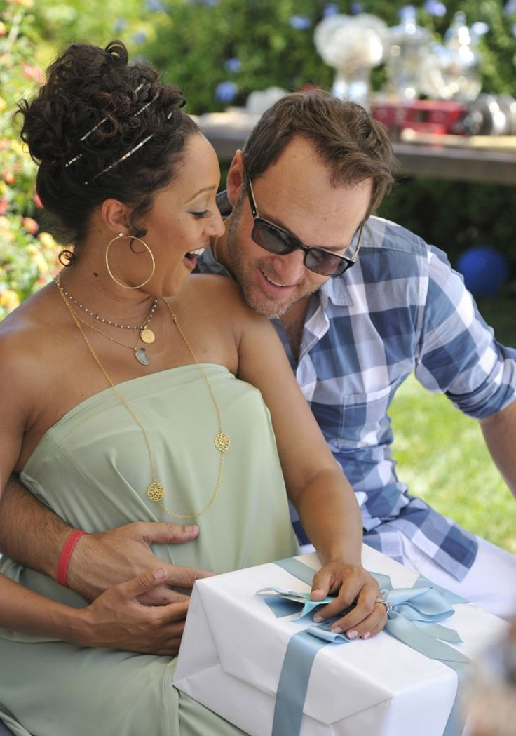 Tamera Mowery and husband Adam Housley