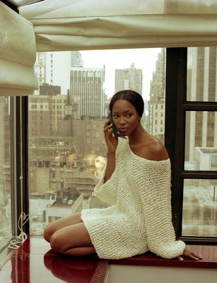 Silk & Lace & Wool, supermodelshrine:   Naomi by Jean-Marie Périer,...