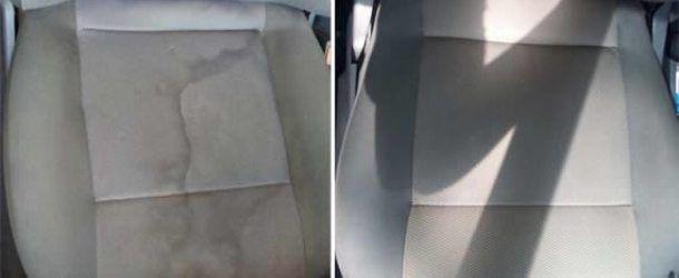Como tirar manchas de estofamento do carro