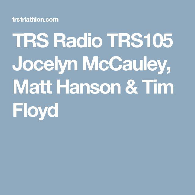 TRS Radio TRS105 Jocelyn McCauley, Matt Hanson & Tim Floyd