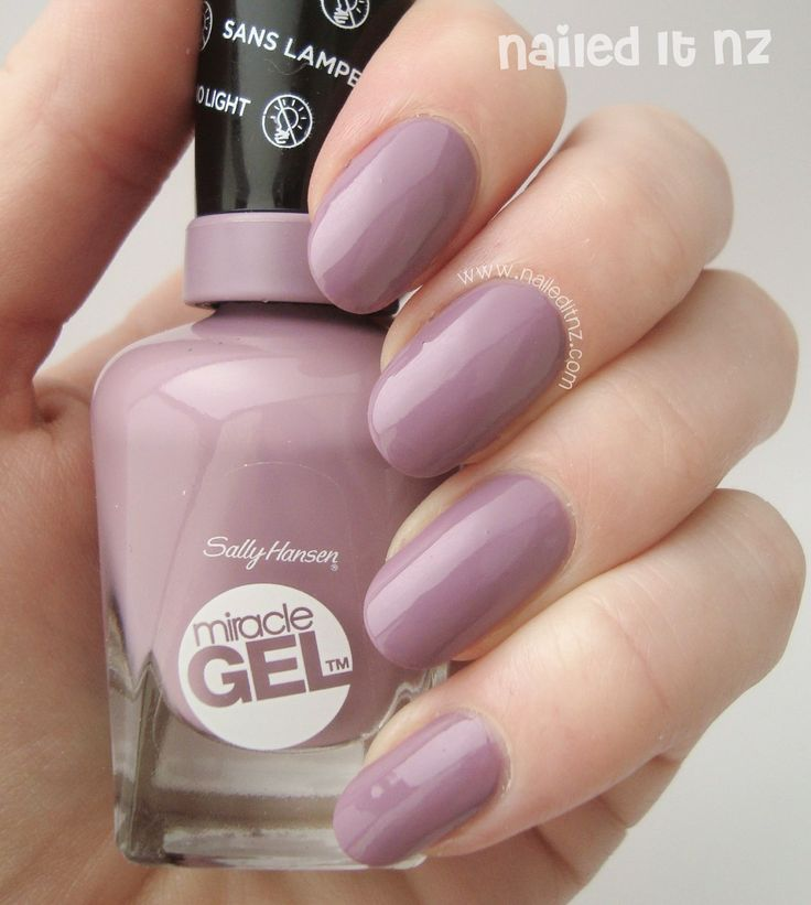 Nailed It Nz Sally Hansen Miracle Gel Review And