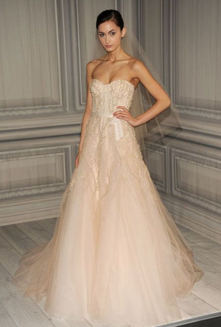 My blog post on Brides: Wanted: A Perfect Pink Wedding Dress that Won
