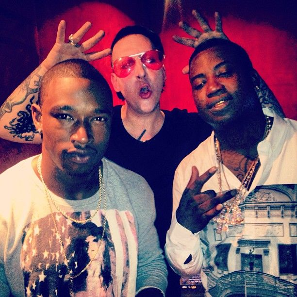 Marilyn Manson and  Kevin McCall