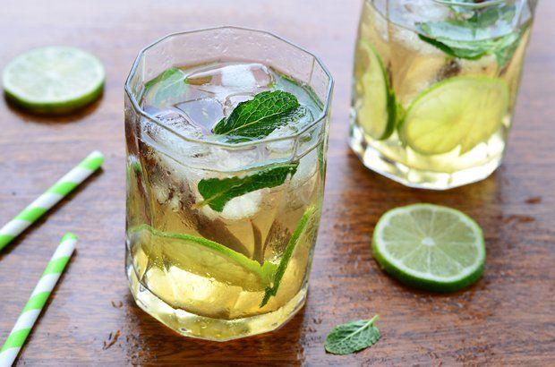 Alkoholfreier Almdudler Cocktail Rezept Alkoholfrei Weisser