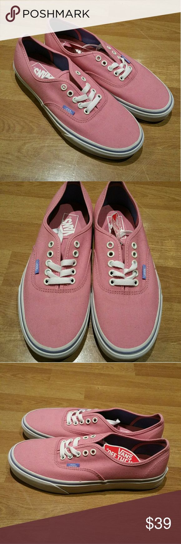 Womens Vans sneakers Brand new. Size 9.5. Never worn Vans Shoes Sneakers