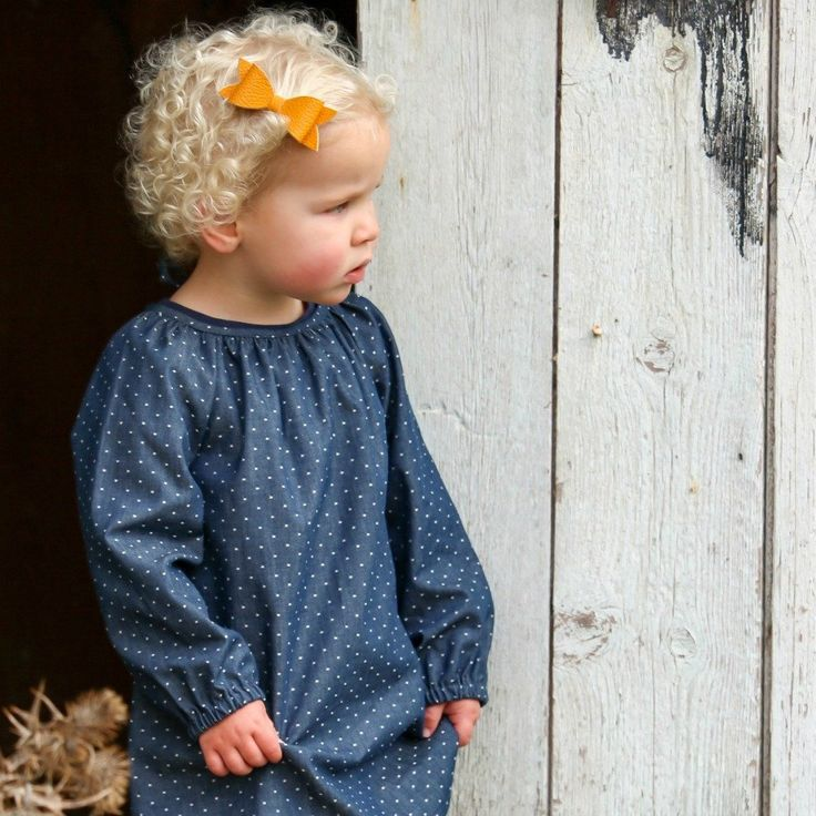 Gorgeous lightweight denim long sleeved dress - perfect for Autumn and Winter