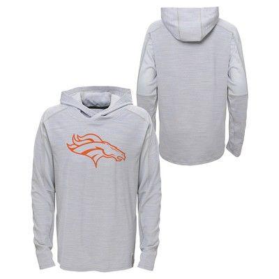 Activewear Sweatshirt NFL Denver Broncos Team Color XS, Boy's