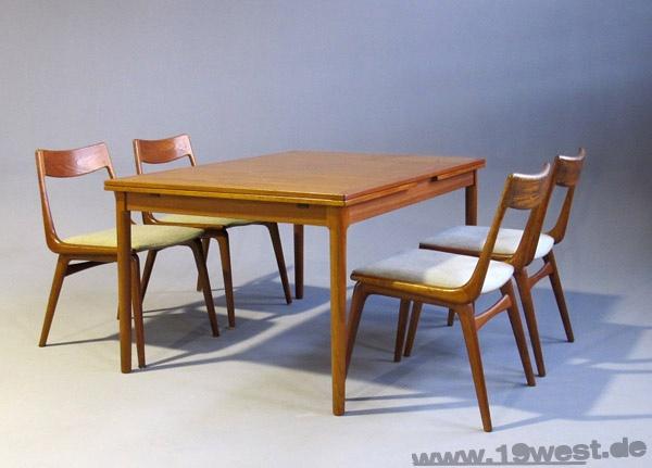 Kai Winding teak table