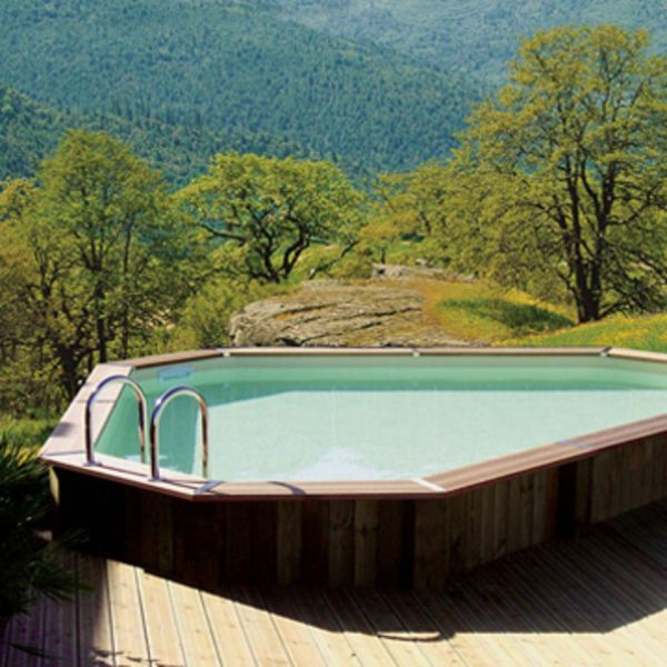 1000 ideas about piscine hors sol on pinterest petite piscine ground pools and pools Piscine hors sol design