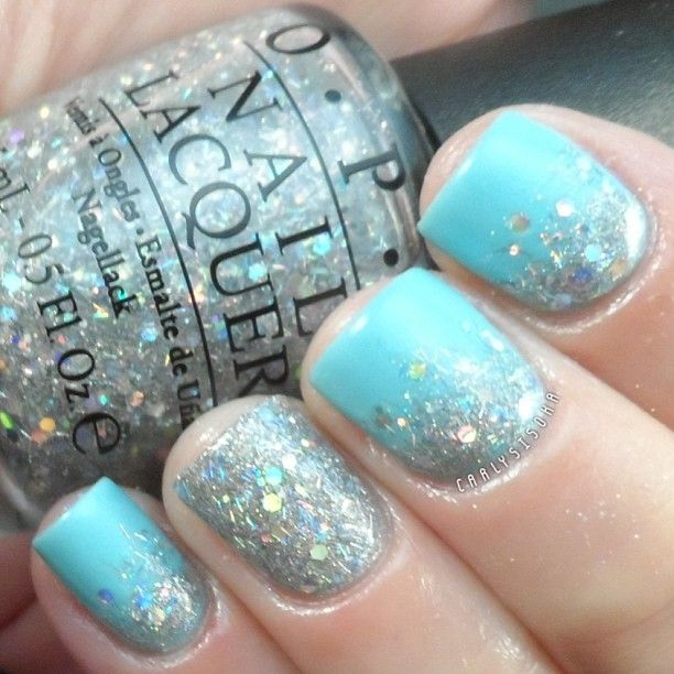 Orly- Pretty-Ugly, Chinaglaze- Glistening Snow and OPI- Which Is Witch?  @Carly Sisoka
