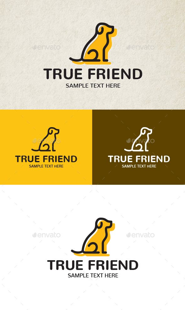 True Friend Logo Template Vector EPS, AI Illustrator | Logo