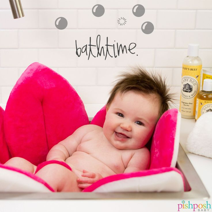 We'll let you in on a convenient little secret: Blooming Bath is the most squishy, comfy way to turn your sink into a baby bath. (And, let's face it - the most FAB.) Makes the perfect baby shower gift! Available in 5 colors - just $39.99! Shop our collection now!  http://www.pishposhbaby.com/blooming-baby-bath.html
