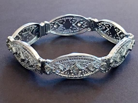Fantastic Antique Filigree Bracelet Set