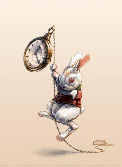 El conejo de la película Alicia en el País de las Maravillas #Cine
