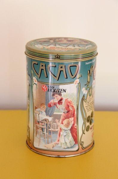 Van Houten cacao.