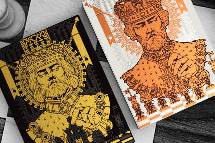 Kickstarter: Kings Game Playing Cards by Bona Fide Playing Cards