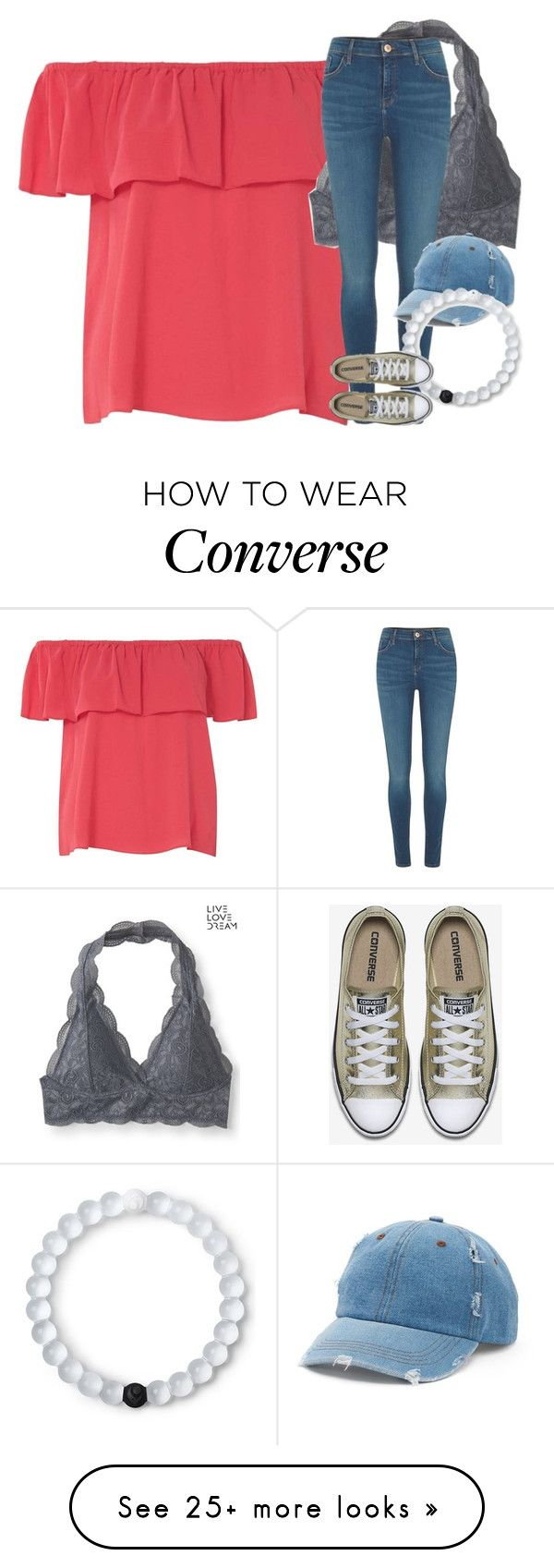 """Untitled #2773"" by laurenatria11 on Polyvore featuring Dorothy Perkins, Aéropostale, River Island, Mudd and Lokai"
