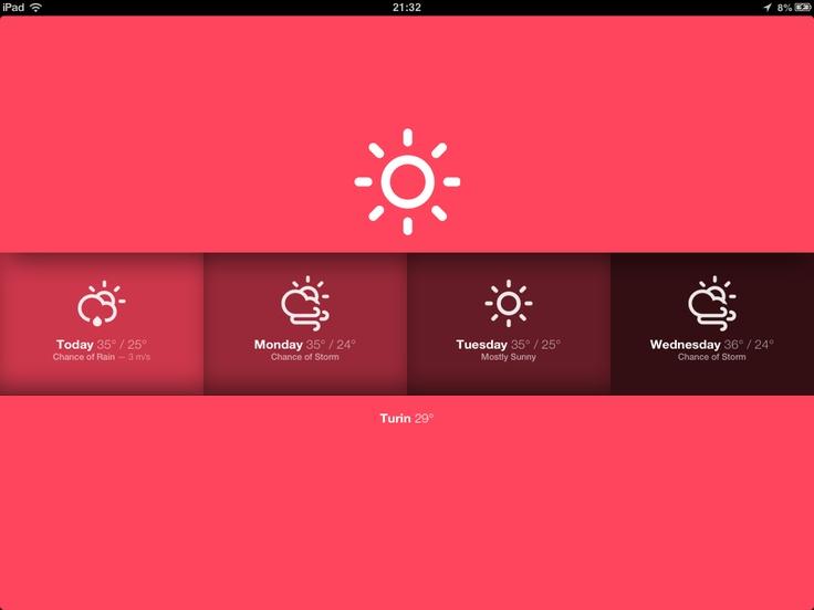 Sun - A gorgeous web weather app