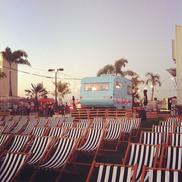 outdoor cinemas and homemade ice cream vans