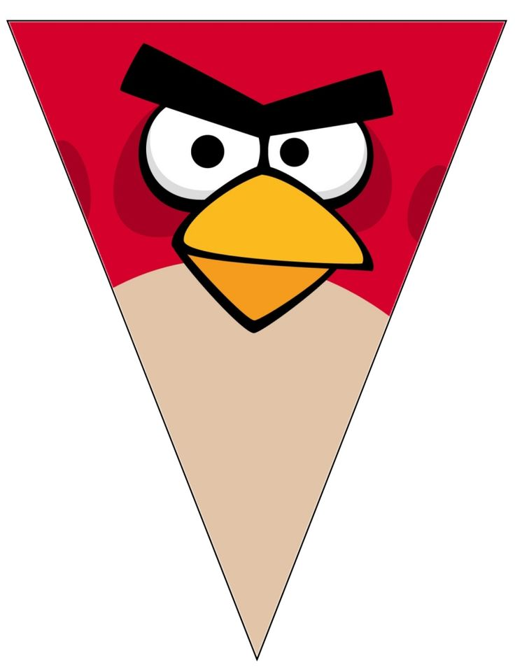 Angry Bird Red Banner Free To Use Free To Share