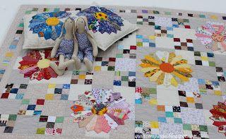 """Quilt-компания: """"Дрезденская тарелка"""" или Одеяло маленькой Алисы-2..."""