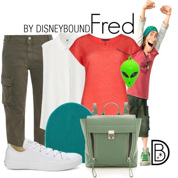 Fred by leslieakay on Polyvore featuring Uniqlo, STELLA McCARTNEY, Converse and 3.1 Phillip Lim