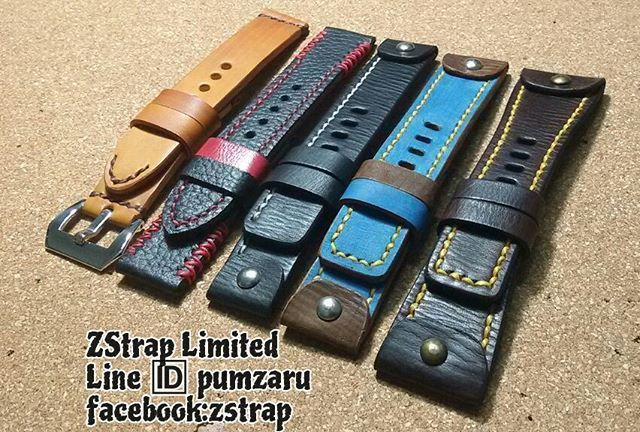 Shipped!!! ZStrap Leather. Made to order  handmade leather strap. (accept PayPal & world wide shipping)  www.facebook.com/zstrap  Line ID: pumzaru  #zstrap #watches #watchstrap #watch #straps #strap #panerai #pam #seiko #seikomonster #seikomonster #rolex #rolexeuro #sevenfriday #deisel #omega #leatherstrap #leather #leatherwork #leathercraft #handmade #handcraft #accessories #limitededition  #exotic #python #crocodieleather