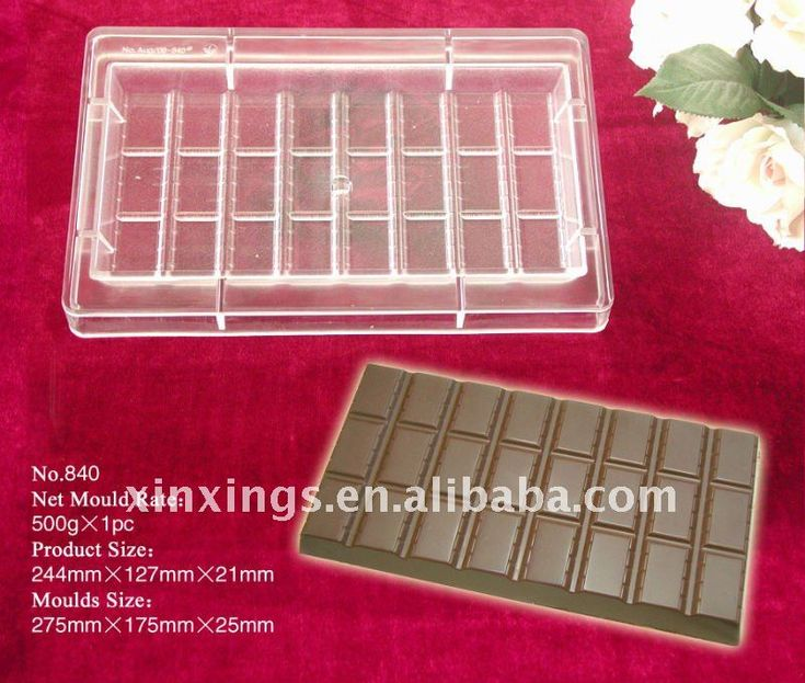 No.840 Polycarbonate chocolate mold